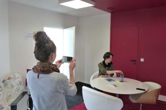 Formation vidéo smartphone chez Voyelle