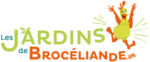 logo jardins de Brocéliande